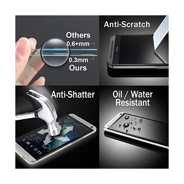 Electrónica Rey Protector de Pantalla para Samsung Galaxy S5 / S5 Neo Cristal Vidrio Templado Premium 4