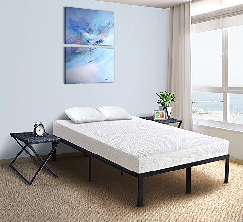 6' Mattress (PrimaSleep Enhanced Air Ventilated Multi Layered Memory Foam Mattress, Queen, 6'' H)