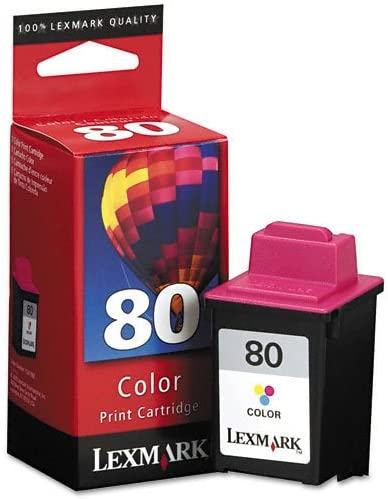 LEX12A1980 275 Page-Yield Tri-Color New-Lexmark 12A1980-12A1980 Ink