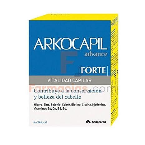 ARKO - ARKOCAPIL FORTE 30 CAPS: Amazon.es: Salud y cuidado ...