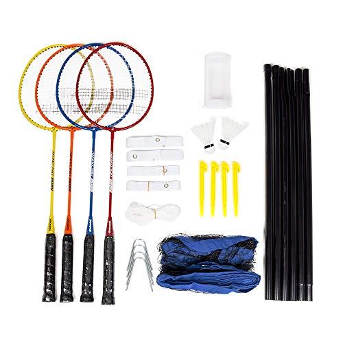 Kit Badminton Babolat Leisure - Com 4 Raquetes