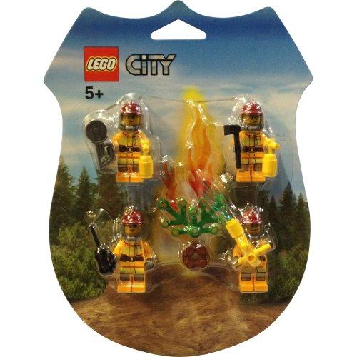 LEGO City Mini Figure Set #853378 Fire Fighters Rescue (Lego City Mini Figure)