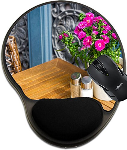 MSD Mousepad wrist protected Mouse Pads/Mat with wrist support design 20210211 Vintage old fashioned cafe chairs with table in Copenhagen - Up Times Copenhagen Vintage