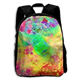 The Children's Abstract Brightness LSD Psychedelic Trippy Backpack