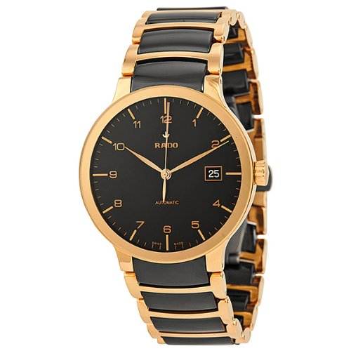 Rado-Centrix-Automatic-Rose-Gold-and-Black-Ceramic-Mens-Watch-R30953152