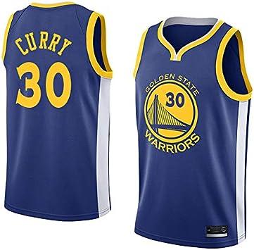 K&P Sports Camiseta Stephen Curry Golden State Warriors Azul,Camiseta Stephen Curry Icon Edición Swingman: Amazon.es: Deportes y aire libre