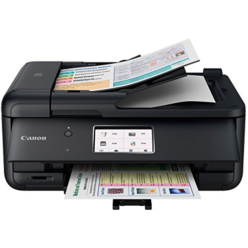 Canon PIXMA Wireless All-in-One Printer TR8520 with Printer Essentials Bundle and More by Beach Camera (Image #1)