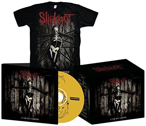 .5: The Gray Chapter (CD + T-Shirt - Large) by Slipknot ()