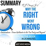 E.J. Dionne Jr's Why the Right Went Wrong: Conservatism: From Goldwater to the Tea Party and Beyond Summary |  Ant Hive Media