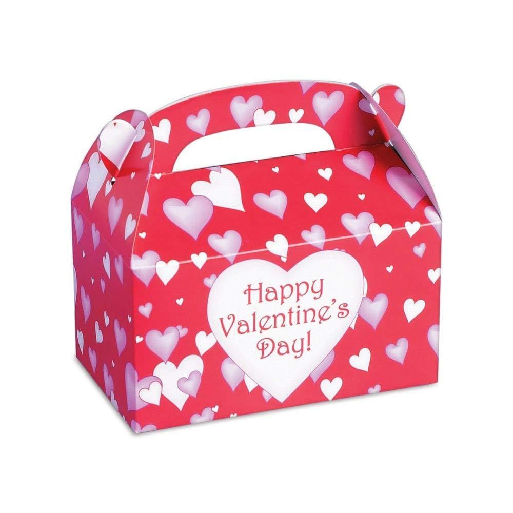Amazon.com: Dozen Cardboard Valentine\'s Day Treat Boxes: Toys & Games