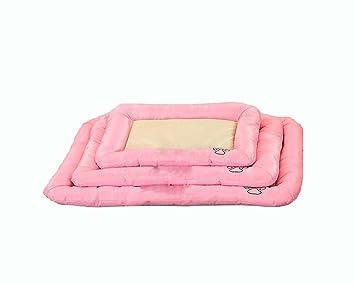 Almohadilla de mascotas Suministros Cojín de hielo Desmontable Cangrejo cómodo de nido puede ser lavado Peluche