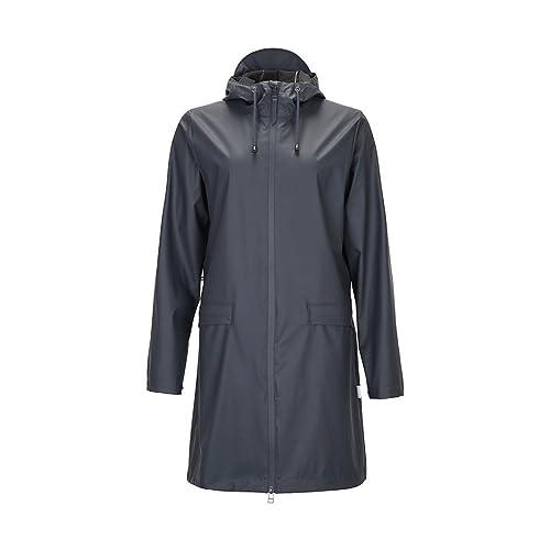 Rains Women's W Women's Dark Teal Rain Jacket