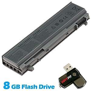 Battpit Bateria de repuesto para portátiles Dell 312-0754 (4400mah / 49wh) Con memoria USB de 8GB GRATUITA