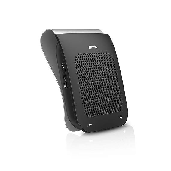 Amazon.com: Slopehill - Altavoz para coche con Bluetooth ...
