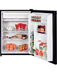 GE GMR06AAZBB Spacemaker 5.7 Cu. Ft. Black Compact Refrigerator