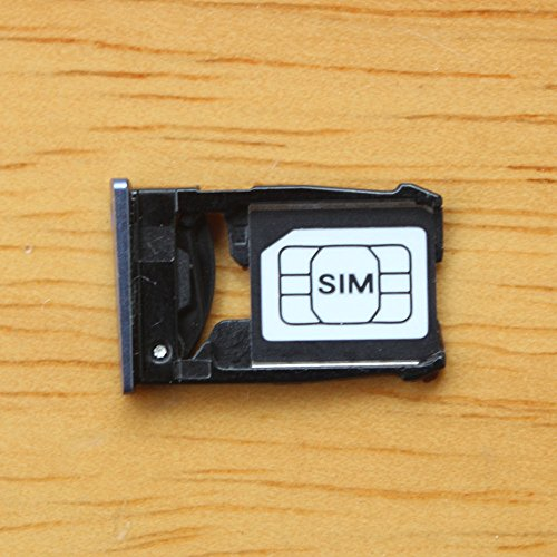 Dogxiong (Blue Sim Card Tray Holder for Motorola Google Nexus 6 XT1100 XT1103 ()