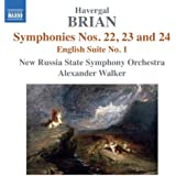 Brian: Symphonies Nos 22-24, English Suite No.1