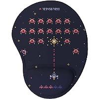 Mouse pad Ergonômico Invaders 8 bits Presente Criativo Geek cor:Azul