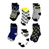 Batman Infant Baby Boys Socks - 6 Pack (12-24 mo., Multicolor)
