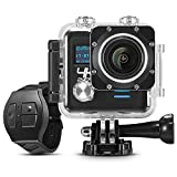 Midonkey i5 Action Camera 4K WiFi Waterproof Sports Camera Ultra HD 16MP 170 Degree Wide Angle Lens with Mountings Kit and Batter