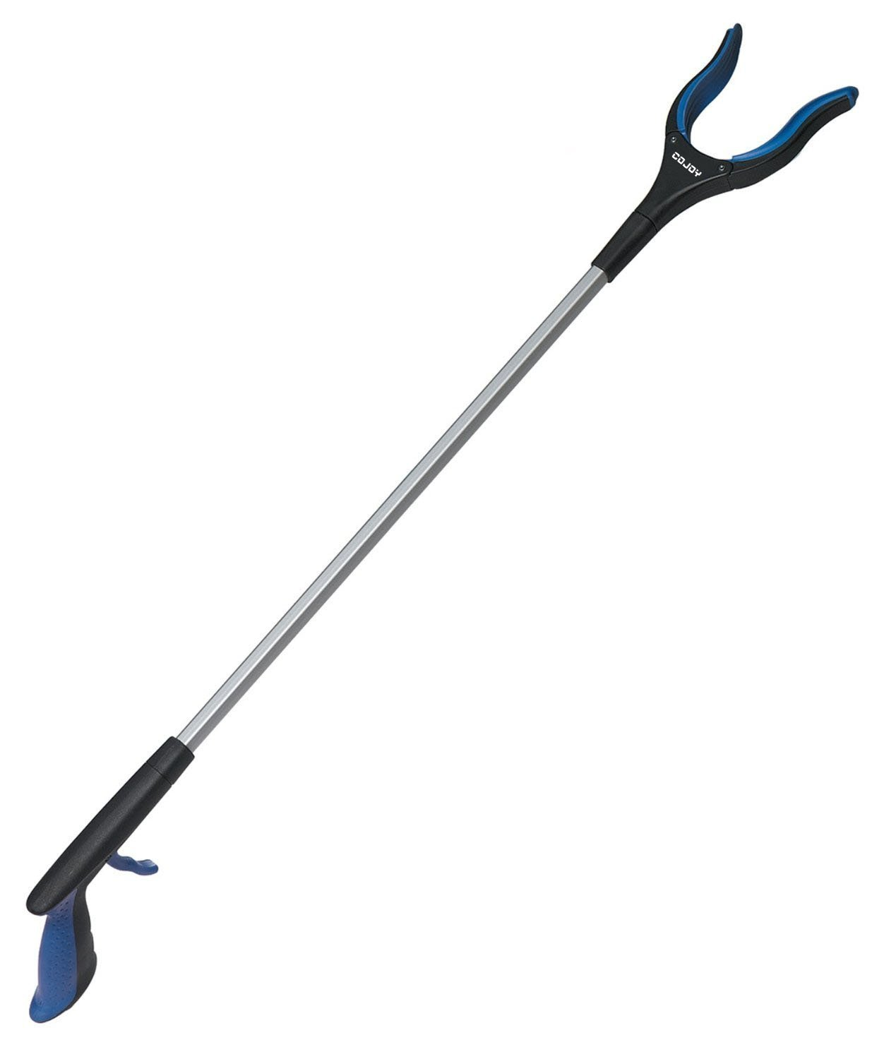 Cojoy 32'' Rotating Reacher Grabber Pickup Tool , Extra Long Handy Mobility Aid ,Handy Arm Extender Makes for Trash Pick Up, Litter Picker, Garden Nabber, Disabled