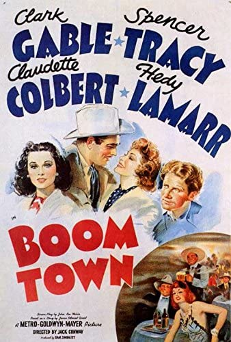 Amazon.com: Boom Town POSTER Movie (27 x 40 Inches - 69cm x 102cm) (1940):  Posters & Prints