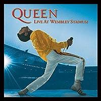 Queen Reina Live at Wembley diseño de la