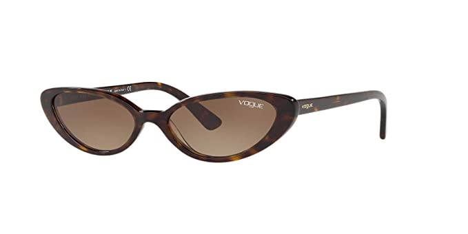 Vogue 0VO5237S W65613, Occhiali da Sole Donna, Marrone (Dark  Havana/Browngradient)