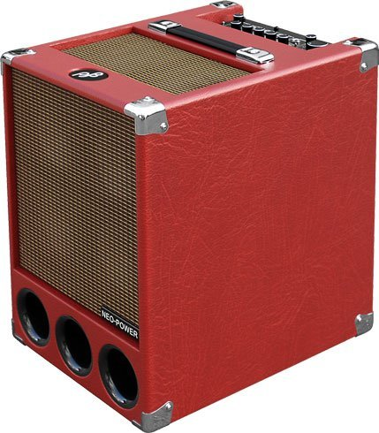 Jones Bass Phil (Phil Jones Super FlightCase Bass Amp 250W 6X5 Speakers in Red)