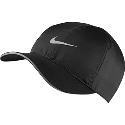 b194cd7e ... shop nike court unisex aerobill featherlight tennis cap black 2e68d  bfde4