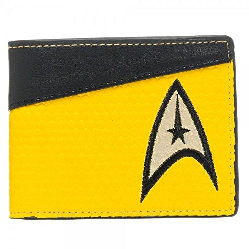 Star Trek Command Yellow Bi-Fold Wallet