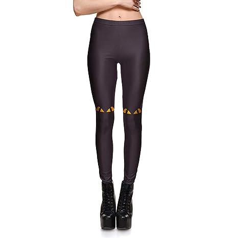 Amazon.com: Fafalisa - Leggings para mujer con diseño de ...