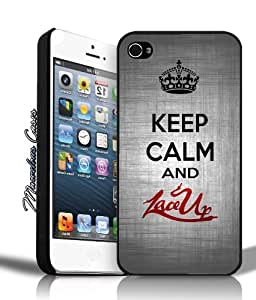 Winona ? Accessories Keep Calm and Lace Up iPhone 4/4s Case By MC