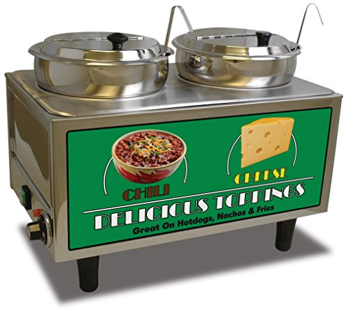 Benchmark 51072 Chili and Cheese Warmer, 21
