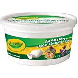 Crayola Air Dry Clay, 1.13 kg bucket, School and Craft Supplies, Teacher and Classroom Supplies, Gift for Boys and Girls, Kids, Ages 3,4, 5, 6 and Up,  Arts and Crafts