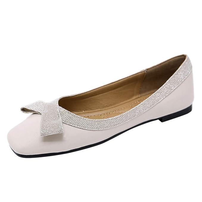 new style a79d7 3641f Sunday Damen Schuhe Elegant Party Hochzeit Schuhe PU-Leder ...