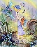 McGowan's 8-3/4-Inch by 11-3/4-Inch TuffTop Azuria Blueberry Fairy Cutting Board