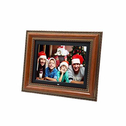 boddenly exquisita alta definición 30.5cm marco de fotos digital marco de madera electrónico álbum