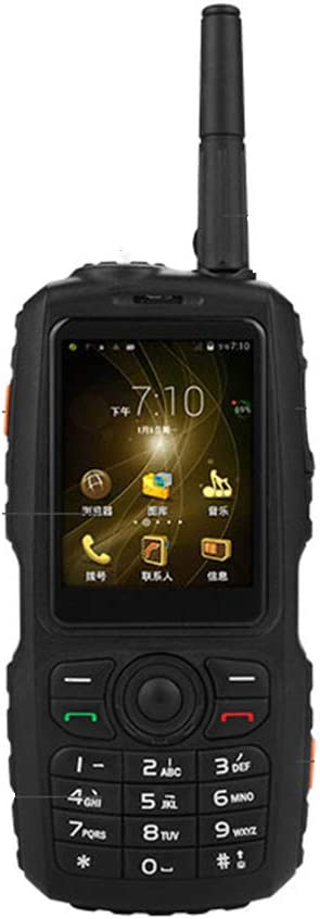 L&Z 3G IP67 Resistente Impermeable al Aire Libre del teléfono móvil Android WiFi Mini pequeño Walkie Talkie Intercom Zello PTT GPS F22 f25 A17
