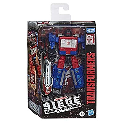Transformers Toys Generations War for Cybertron Deluxe Wfc-S49 Crosshairs Figure - Siege Chapter - Adults & Kids Ages 8 & Up, 5: Toys & Games