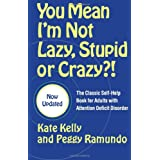 With over a quarter million copies in print, You Mean I'm Not Lazy, Stupid or Crazy?! is one of the bestselling books on attention deficit disorder (ADD) ever written. There is a great deal of literature about children with ADD. But what do you do if...