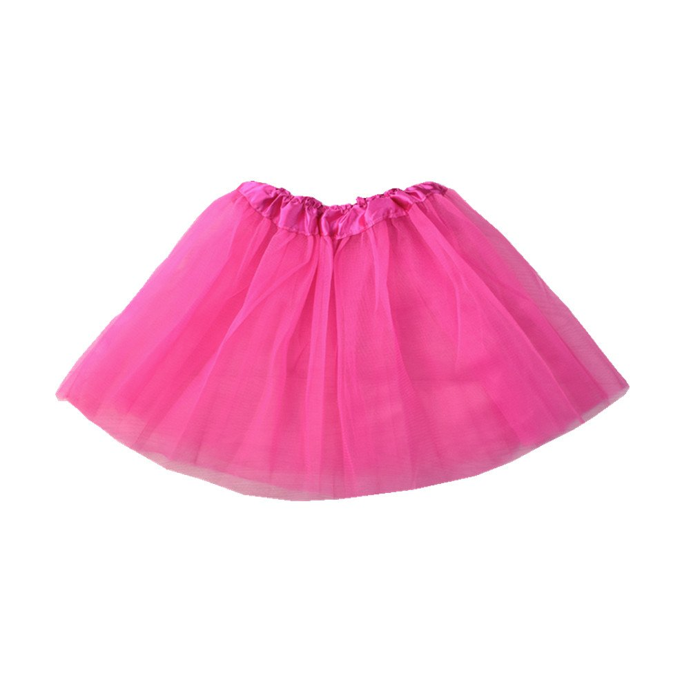 DAN Falda, Chicas Falda de Tutú Princesa Ballet Realizando Vestido ...