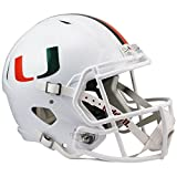 Miami Hurricanes Officially Licensed NCAA Speed Full Size Replica Football Helmet