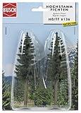 2 Realistic Tall Fir Trees by Busch