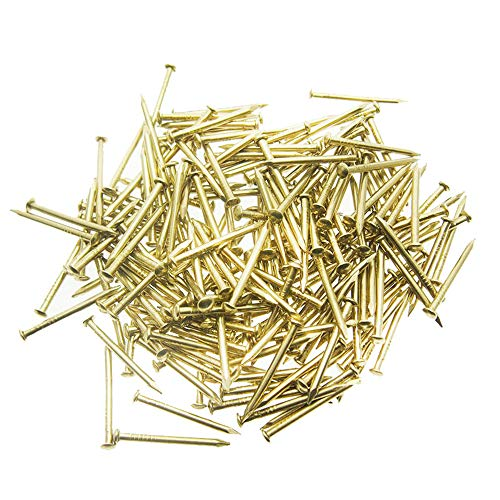 100 Golden Steel Nails for String Art - 20 mm]()