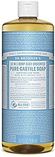 product image for Dr. Bronner's Organic Pure Castile Liquid Soap Baby-Mild Unscented - 32 fl oz