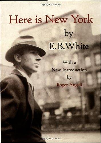 Three new yorks eb white essays