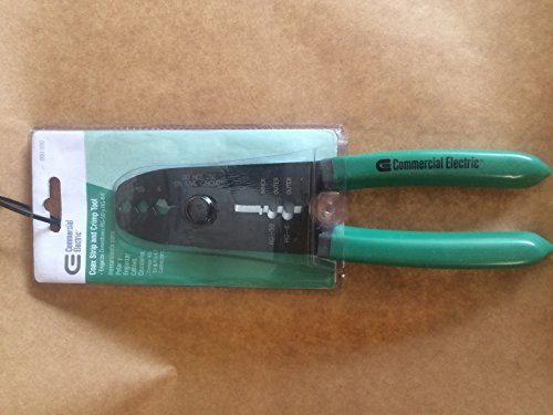 Commercial Electric Coax Strip and Crimp Tool by Commercial Electric