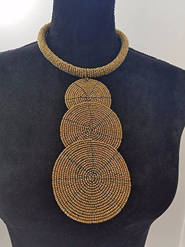 amazon com handcrafted african jewelry bead necklace african