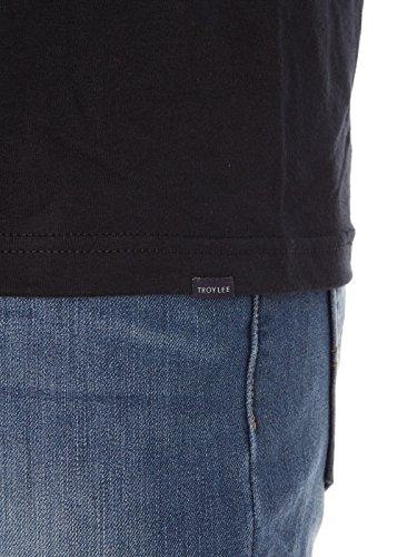 Troy Lee Designs T-Shirt Granger Check Schwarz